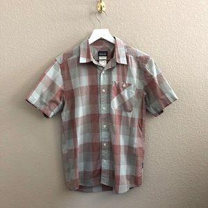Patagonia Organic Cotton Plaid Button Down Shirt